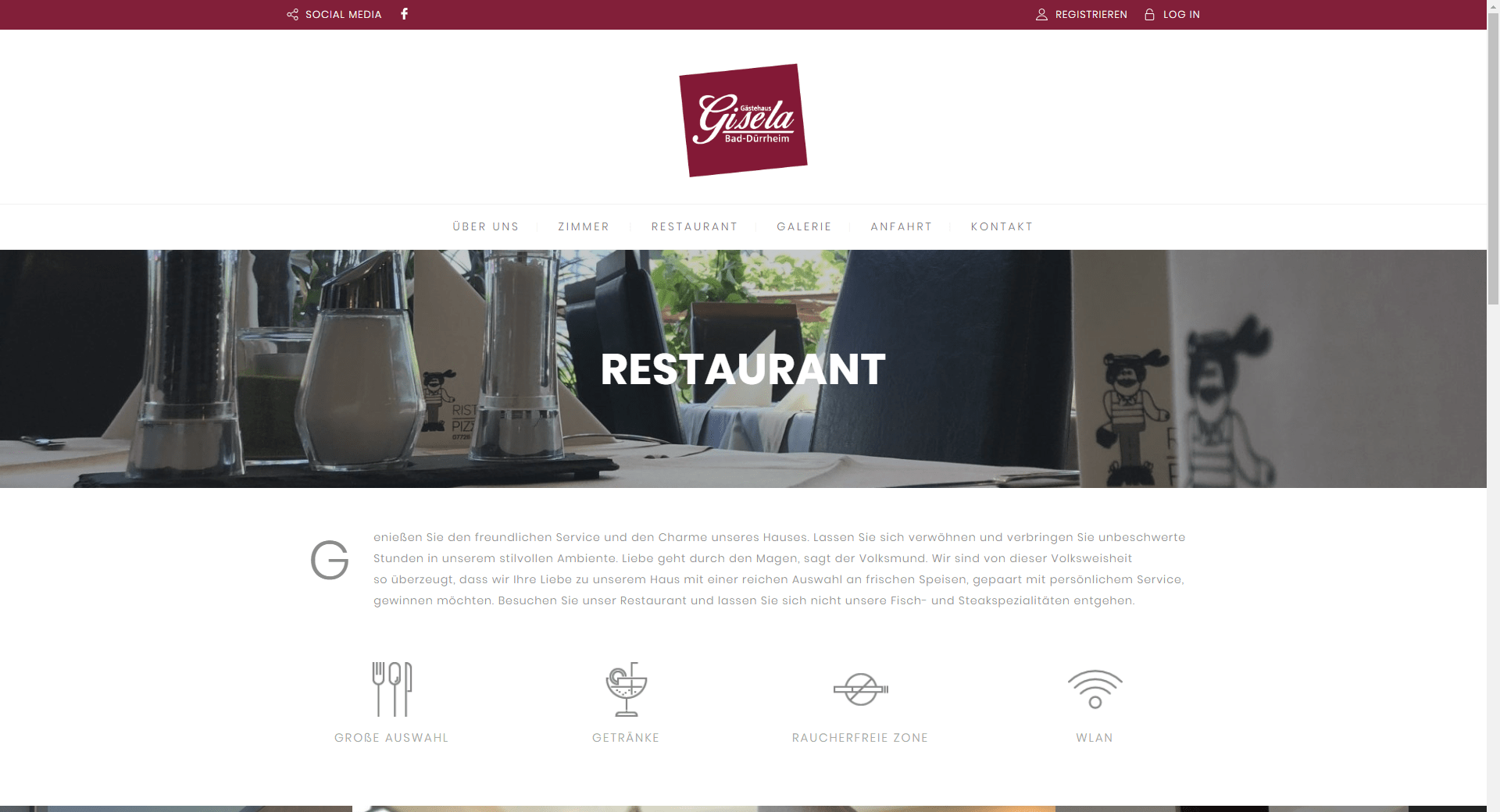 ScreenShot 039 Restaurant – Gästehaus Gisela - Google Chrome